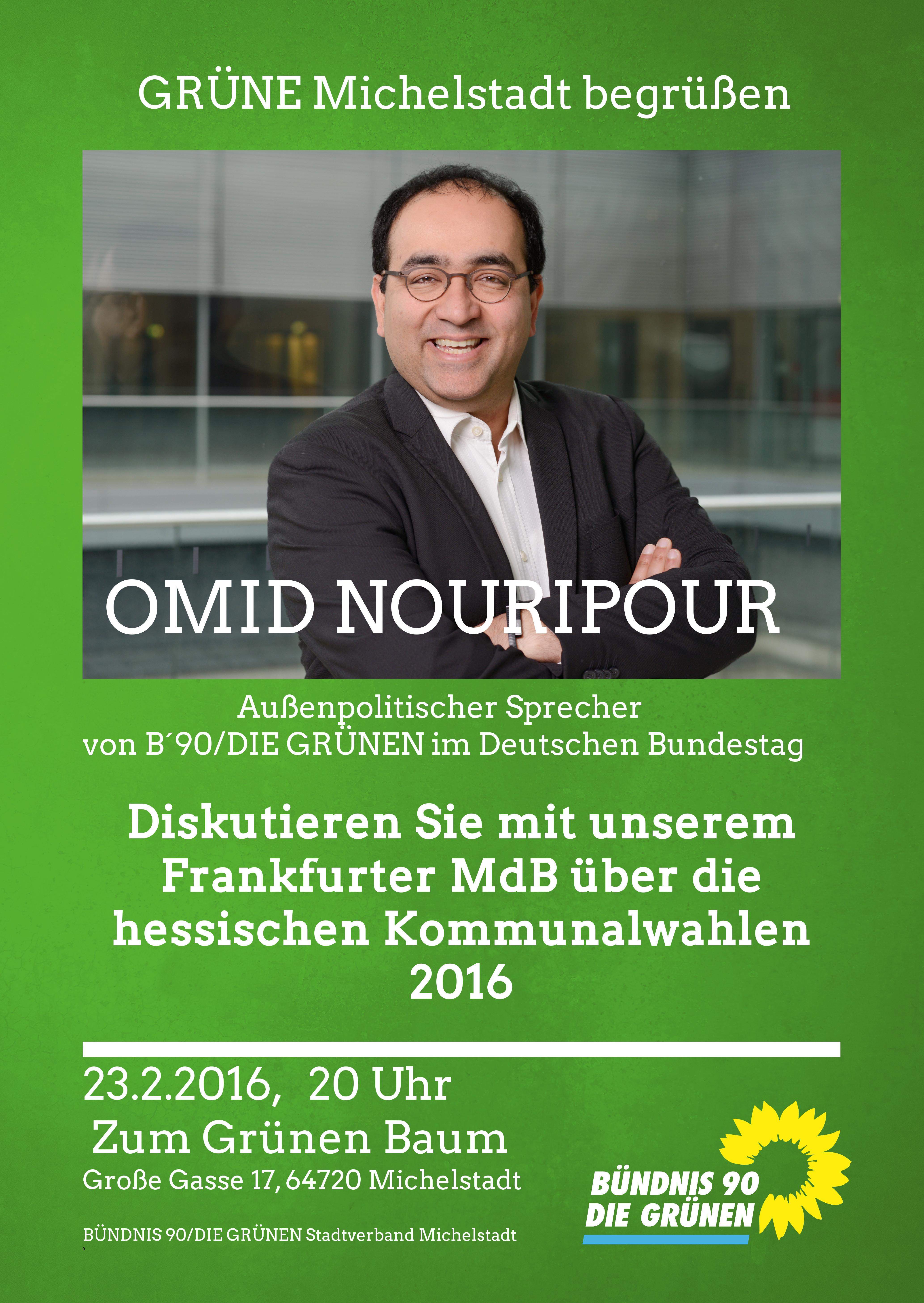 Flüchtlinge, Türkei, Menschenrechte, Omid Nouripour, MdB, Frankfurt, Michelstadt, Außenpolitik