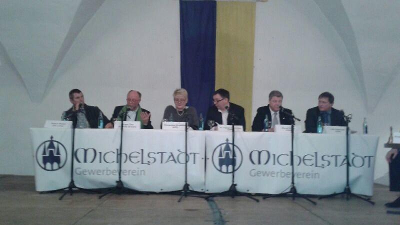 Gewerbeverein Michelstadt, Innenstadt, Nazis, Kultur, Handel, Grüne, SPD, CDU, ÜWG, Wahlen