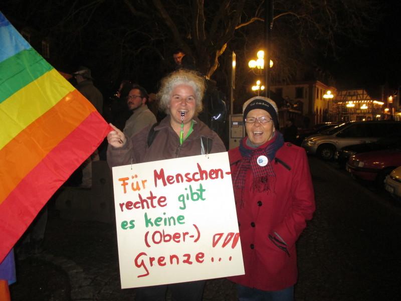 Demo, Rechtsradikalismus,