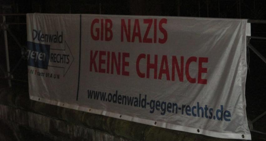 Nazis keine Chance, Humanismus, Toleranz, Weltoffenheit, Michelstadt